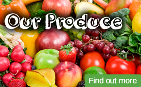 Fresh fruit and vegetables from Interfruit Birmingham