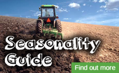 Click here to find out about our Seasonality Guide